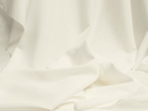 Wholesale Pongee Plush Anti-Static Lining - Off White - 25 Yards