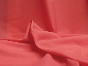 Pongee Plush Anti-Static Lining - Rouge