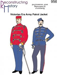 Reconstructing History Pattern #RH956 - Victorian Era British Army Patrol Jacket - Sgt. Peppers