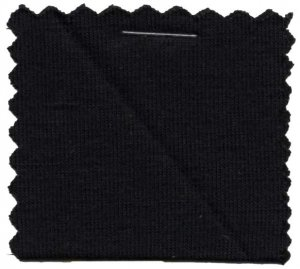 Rayon Jersey Knit Solid Fabric - Black - 200GSM