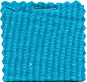 Rayon Jersey Knit Solid Fabric - Turquoise - 200GSM