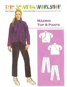 Sewing Workshop Collection Madrid Top and Pants pattern
