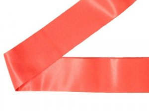 Wrights Satin Blanket Binding- Neon Red #25