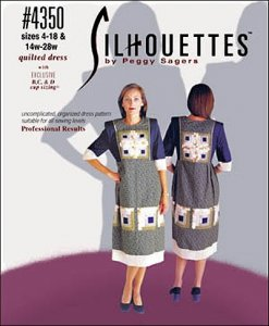 Silhouettes #4350 - Quilted Dress pattern by Peggy Sagers