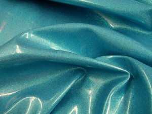 Sparkle Vinyl -Sky with turquoise flecks