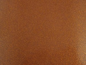 Sparkle Vinyl - Copper with copper flecks