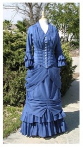 Truly Victorian #326 - 1880 Hermione Overskirt - Historical Skirt Pattern