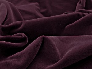 Triple Velvet Fabric - Color Burgundy #628Triple Velvet Fabric - Burgundy