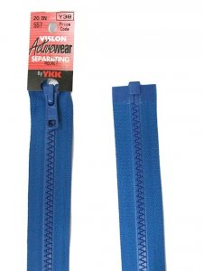 "YKK Separating zipper - 22"" Rocket"