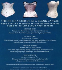 Book - The Basics of Corset Building by Linda Sparks