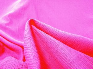 Cotton Gauze Fabric - Fuchsia #529