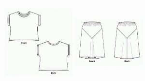 Patterns - Sewing Workshop Collection - Eureka Top & Skirt