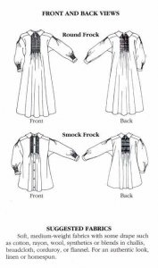 Folkwear #221 English Smock