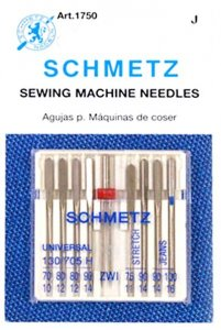 Schmetz #1750 - Assortment package of sewing machine needles