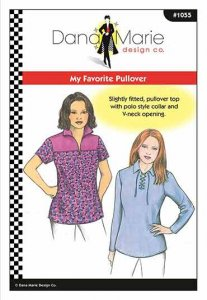 Dana Marie Sewing Pattern #1055 - My Favorite Pullover