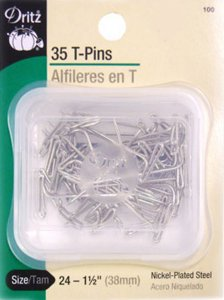 Dritz #100 T-Pins - 35 count