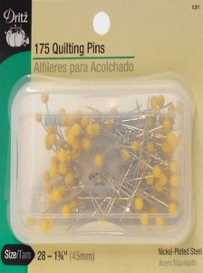 Dritz #131 Quilting Pins - 175 count