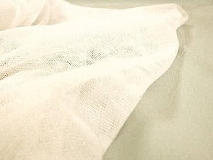 Wholesale English Netting fabric in Ivory