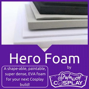 Hero Foam - 2mm - EVA Closed Cell Foam by Sew Much Cosplay