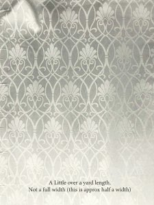 Luxury Wool -  Shell Jacquard - Ivory Snow