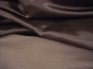 Kasha Satin - Flannel Back Winter Coat Lining - Rich Chocolate