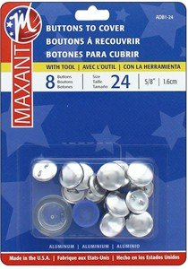 Maxant Buttons to Cover - Size 24 Kit