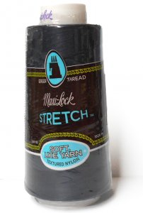 Maxi-Lock Stretch Serger Thread - Navy