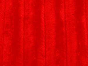 Minky Animal Print Fur Fabric - Red Mink