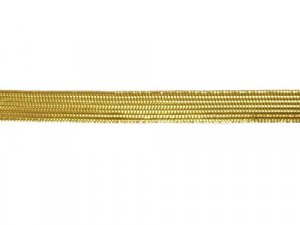 "Metallic Middy Braid - Trim 064A - 3/8"" -  Gold"