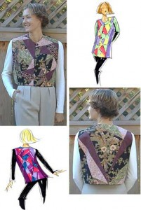 Dana Marie Sewing Pattern #1016 - Crazy Vest