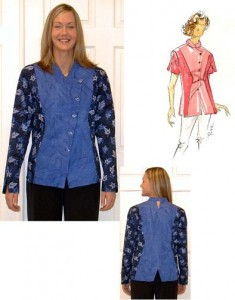 Dana Marie Sewing Pattern #1037 - Xceptional Shirt