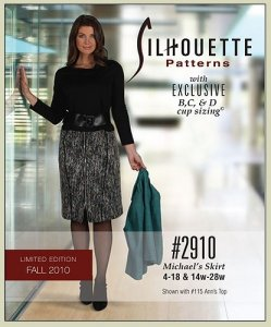 Silhouettes #2910 Michael's Skirt - Sizes 4-18 & 14w-28w