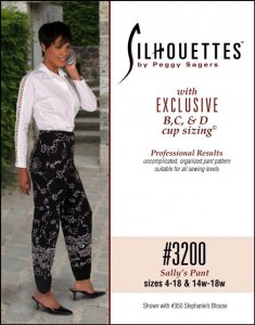 Silhouette Patterns #3200 Sally's Pant