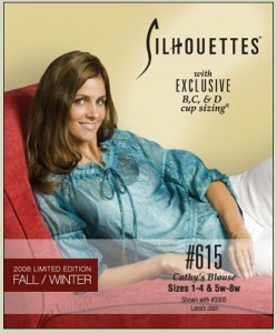 Silhouettes #615 Cathy's Blouse - Sizes 1-4 & 5w-8w