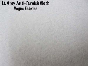 Anti-Tarnish Silver Cloth - Grey (Light Grey)