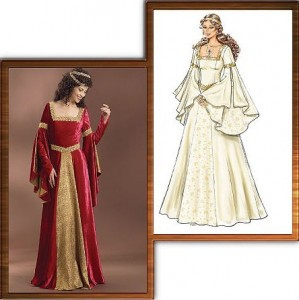 Butterick 4571 - Medieval Dress Pattern