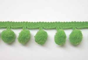 Ball Fringe - Apple Pom Pom Trim