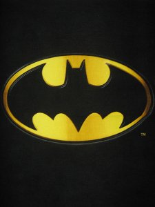 Batman Polar Fleece Print - Batman Logo Panel, 520237A