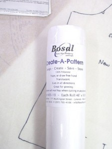 Bosal #405 - Create-A-Pattern Tracing Interfacing - 5 yard roll
