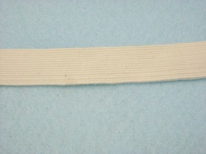 "Wholesale Braided Cotton Elastic 9278 - Natural 3/4""   144yds"