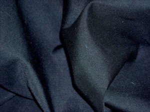 Broadcloth Fabric - Polyester-Cotton Blend - Black
