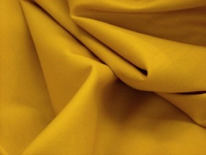 Broadcloth Fabric - Polyester-Cotton Blend - Antique Gold