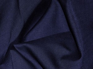 Broadcloth Fabric - Polyester-Cotton Blend - Navy