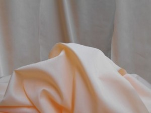 Broadcloth Fabric - Polyester-Cotton Blend - Peach