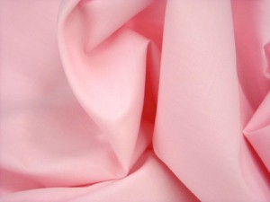 Broadcloth Fabric - Polyester-Cotton Blend - Light Pink