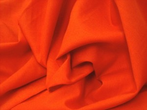 Broadcloth Fabric - Polyester-Cotton Blend - Red