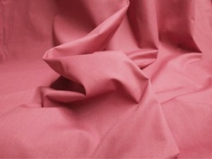 Broadcloth Fabric - Polyester-Cotton Blend - Rose