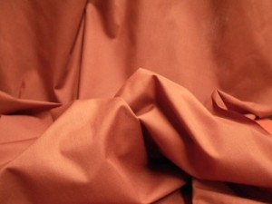 Broadcloth Fabric - Polyester-Cotton Blend - Rust