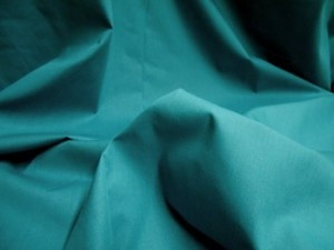 Broadcloth Fabric - Polyester-Cotton Blend - Teal