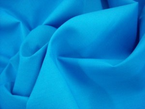 Broadcloth Fabric - Polyester-Cotton Blend - Turquoise